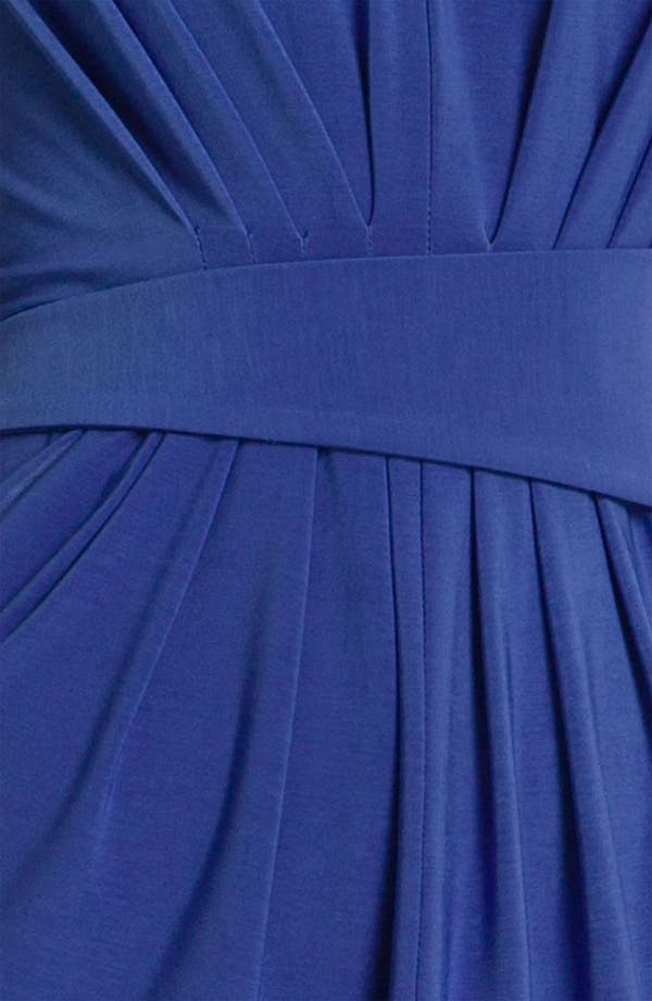 Alternate Image 3  - Alex & Ava Pleated Jersey Sheath Dress