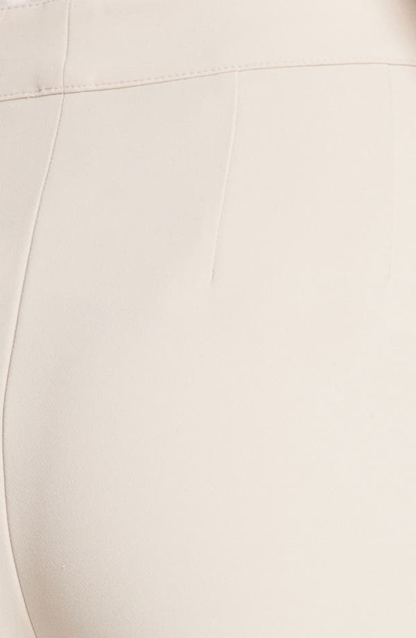 Alternate Image 5  - St. John Collection 'Diana' Straight Leg Crepe Marocain Pants