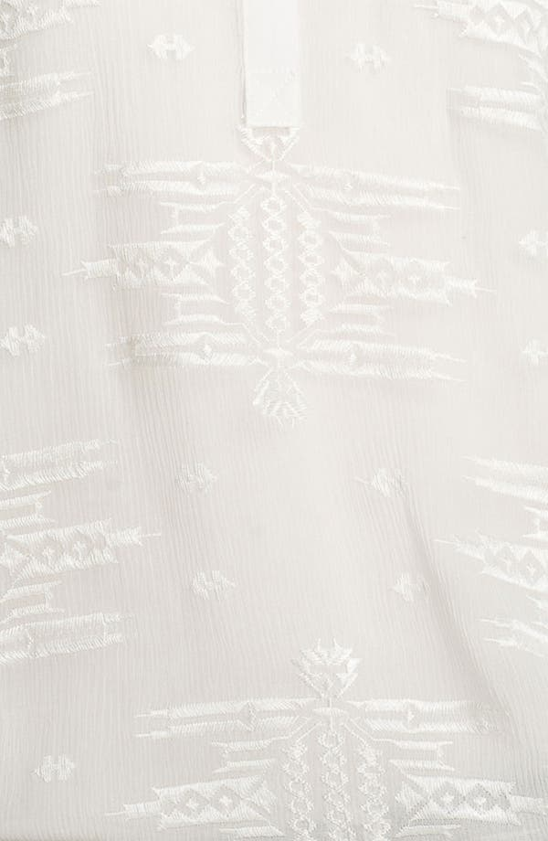 Alternate Image 3  - Rebecca Taylor Embroidered Silk Top