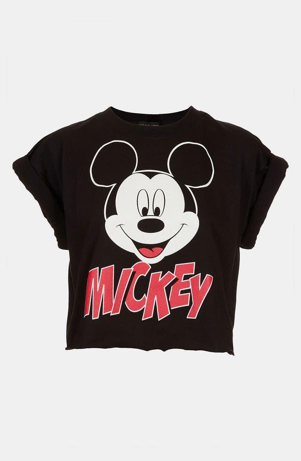 Alternate Image 1 Selected - Topshop 'Mickey' Crop Tee