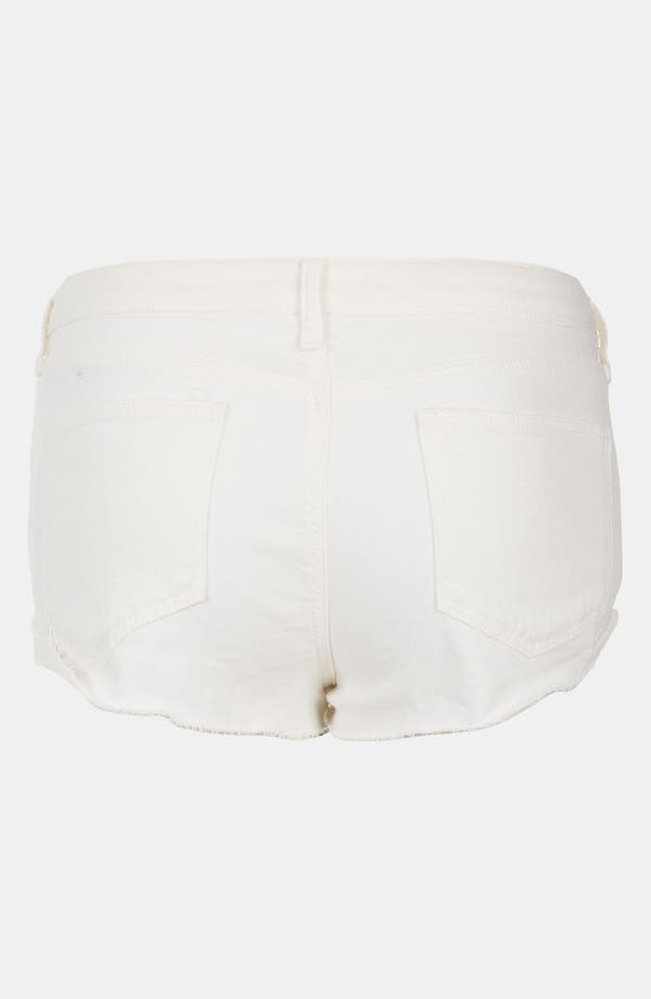 Alternate Image 2  - Topshop Moto 'Mitzy' Cutoff Denim Shorts