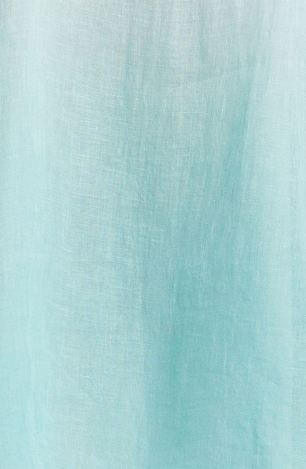 Alternate Image 3  - Eileen Fisher Linen A-Line Dress (Plus)