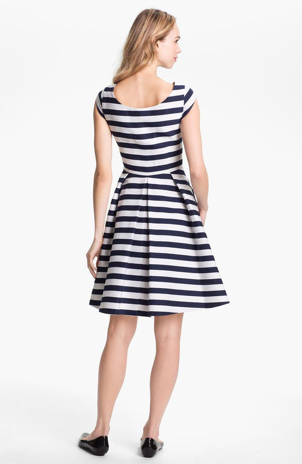 Alternate Image 2  - kate spade new york 'mariella' cotton blend fit & flare dress