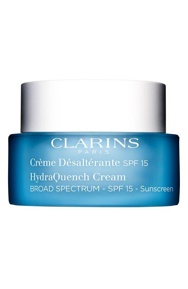Main Image - Clarins 'HydraQuench' Cream Broad Spectrum SPF 15
