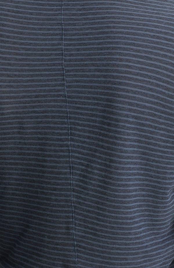 Alternate Image 3  - James Perse Stripe Jersey Shirt