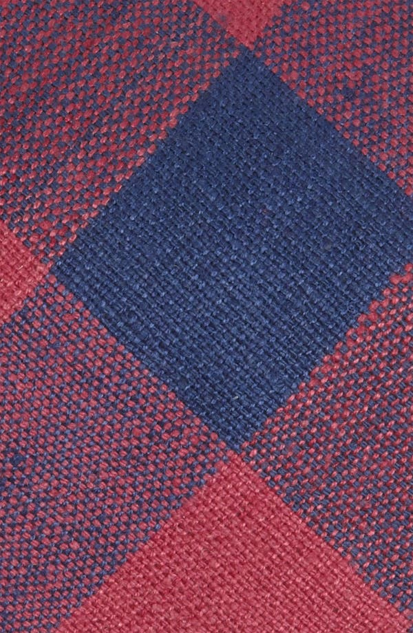 Alternate Image 2  - Gitman 'Buffalo Check' Woven Silk Tie