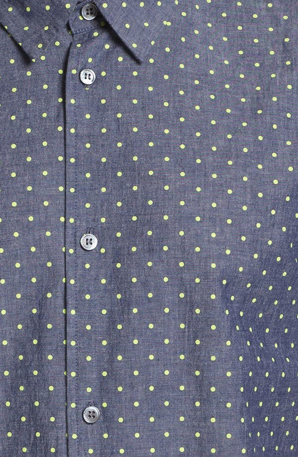 Alternate Image 3  - MARC BY MARC JACOBS Dot Print Chambray Shirt