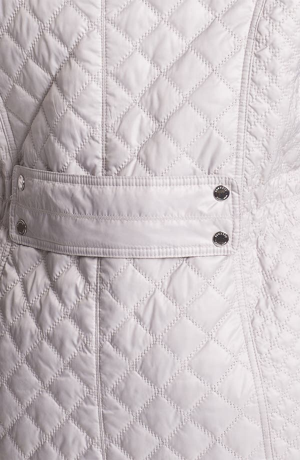 Alternate Image 3  - Laundry by Shelli Segal Packable Quilted Coat (Plus Size)