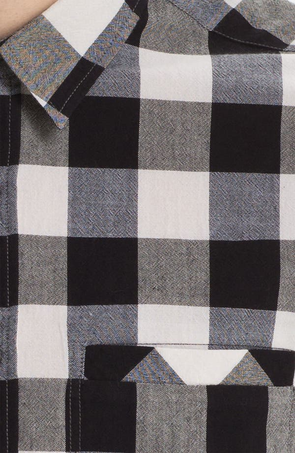 Alternate Image 3  - Topman Gingham Shirt