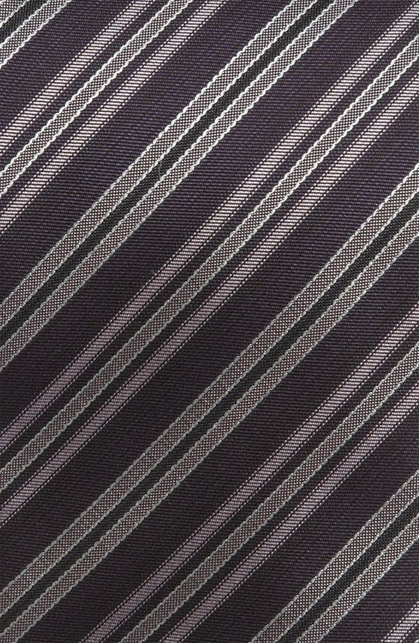Alternate Image 2  - BOSS Black Woven Silk Tie