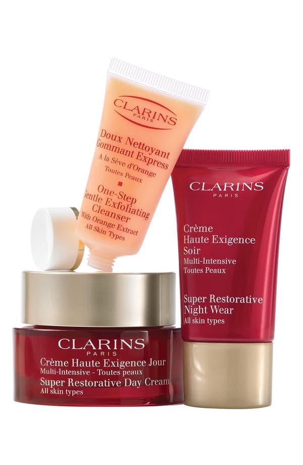 Alternate Image 1 Selected - Clarins 'Skin Solutions - Super Restorative' Set ($158 Value)