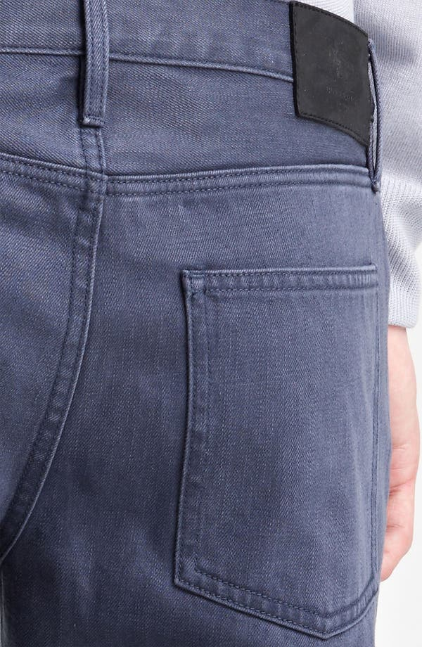 Alternate Image 4  - Burberry London Straight Leg Jeans (Indigo)