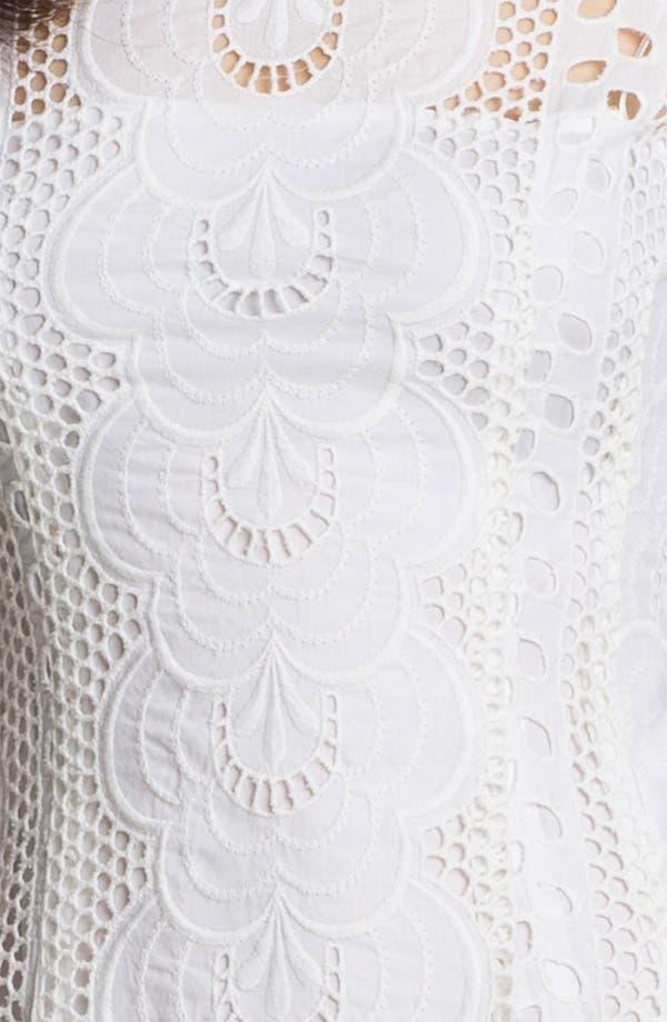 Alternate Image 3  - Nanette Lepore 'Sandy Beach' Cotton A-Line Dress