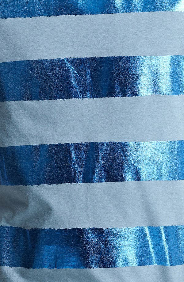 Alternate Image 3  - Burberry Prorsum Metallic Stripe T-Shirt