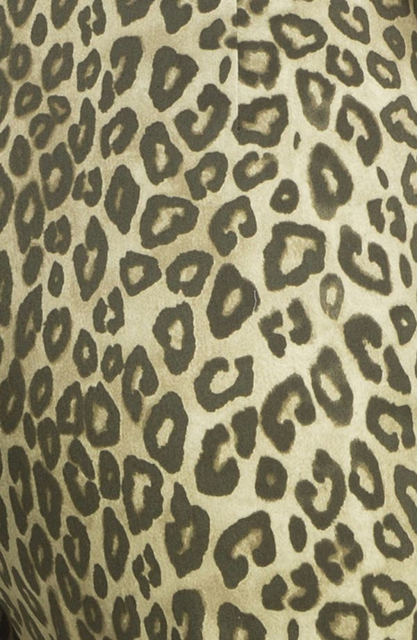 Alternate Image 3  - Lafayette 148 New York 'Bleecker - Senegal Cheetah' Crop Pants