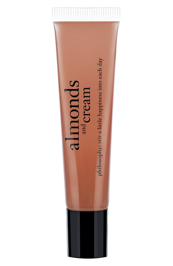 Main Image - philosophy 'almonds & cream' lip shine