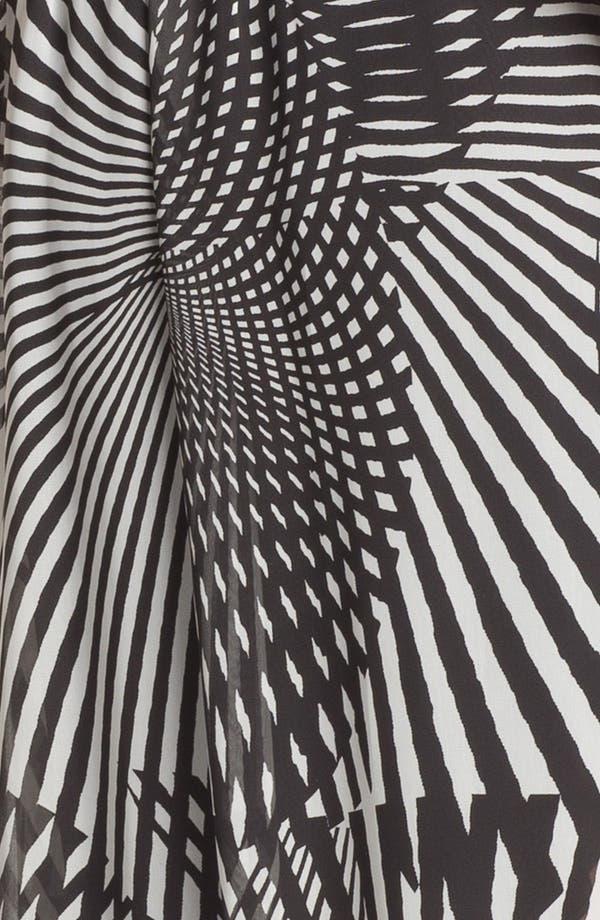 Alternate Image 3  - Adrianna Papell Print Asymmetrical Chiffon Dress