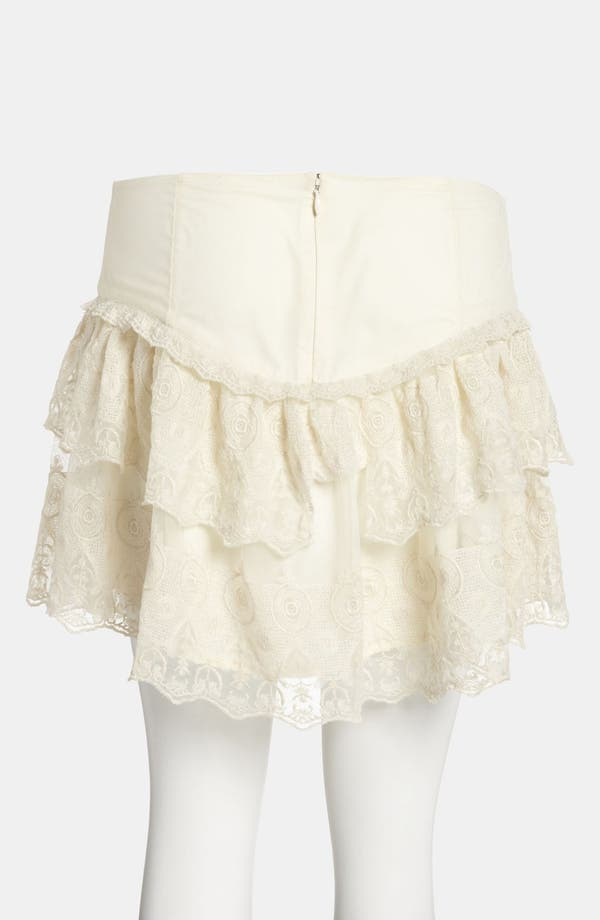 Alternate Image 2  - Leith Tiered Lace Skirt
