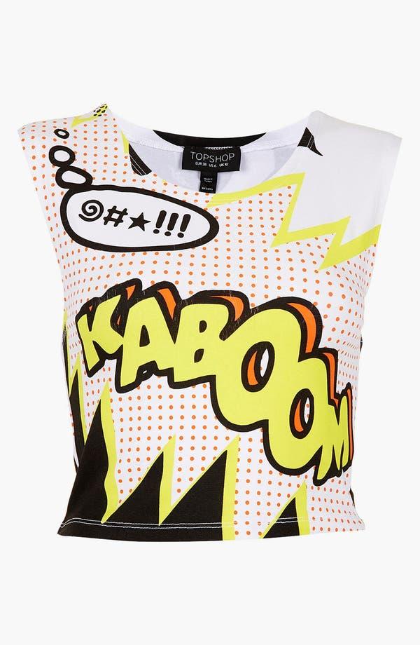 Alternate Image 3  - Topshop 'Kaboom' Crop Top