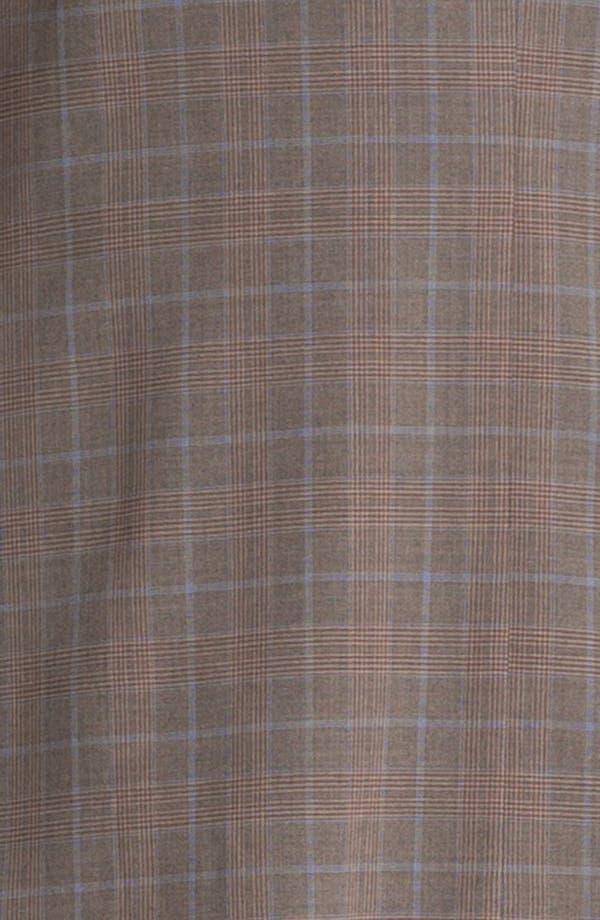 Alternate Image 6  - Ted Baker London Trim Fit Plaid Suit