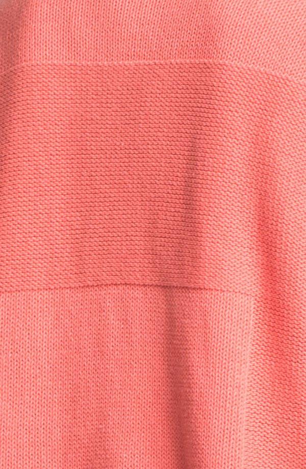 Alternate Image 3  - Lafayette 148 New York 'Essential' V-Neck Cotton Blend Sweater