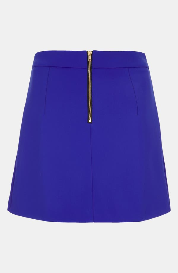 Alternate Image 2  - Topshop High Waist A-Line Skirt
