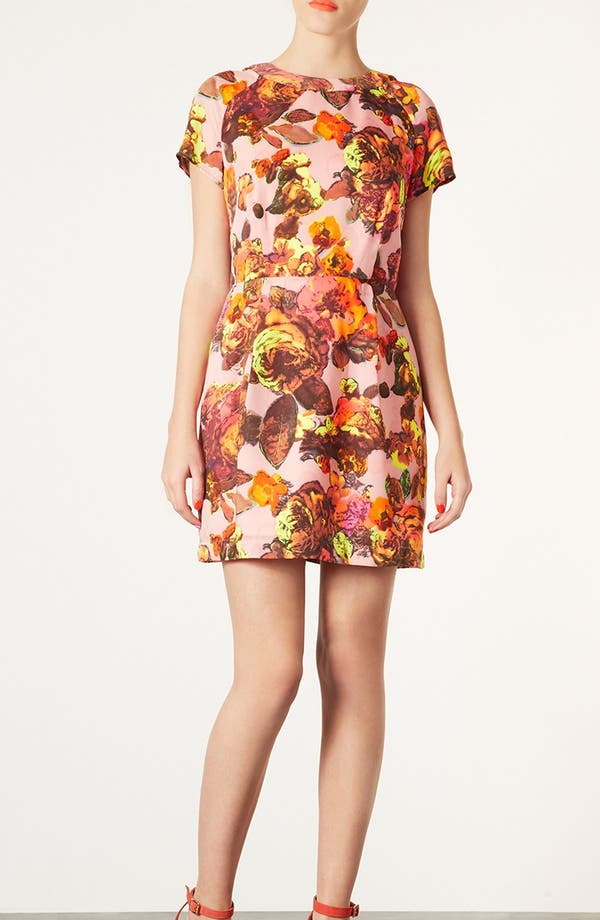 Alternate Image 1 Selected - Topshop 'Modern Vintage' Shift Dress