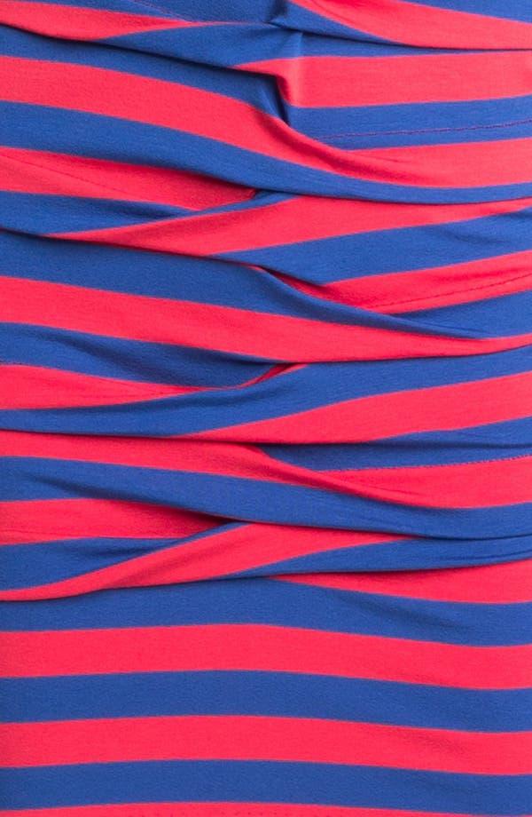 Alternate Image 3  - Nicole Miller Stripe Front Twist Jersey Dress