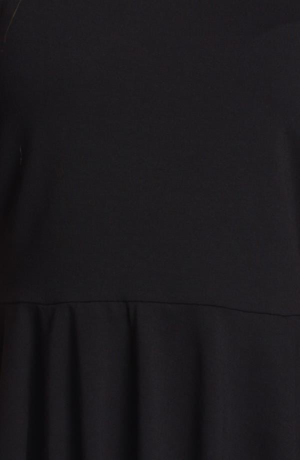 Alternate Image 3  - Vince Camuto Three Quarter Sleeve Peplum Top