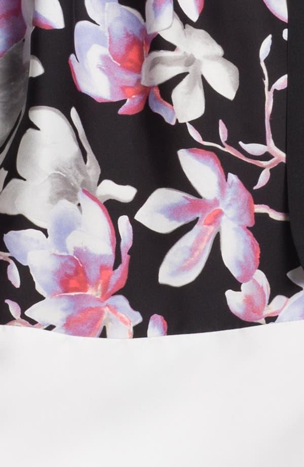Alternate Image 3  - DKNYC Contrast Cuff Print Dress