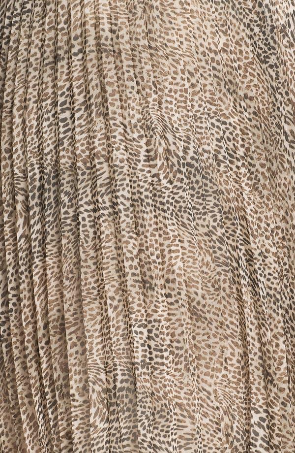 Alternate Image 3  - Vince Camuto Cheetah Print Chiffon Skirt (Plus Size)