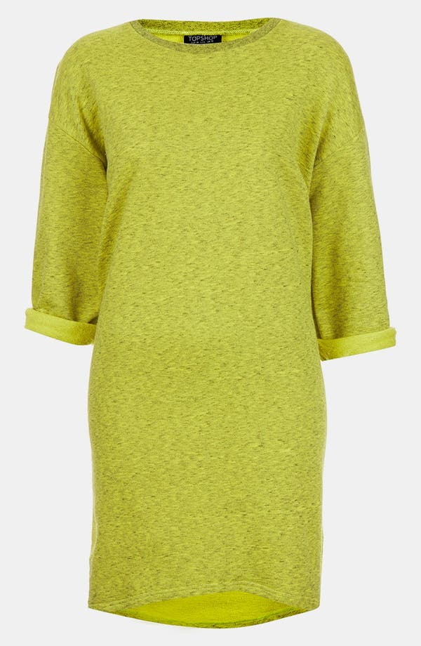 Alternate Image 2  - Topshop Sweatshirt Dress