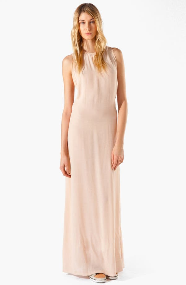Main Image - maje 'Armance' Macramé Maxi Dress