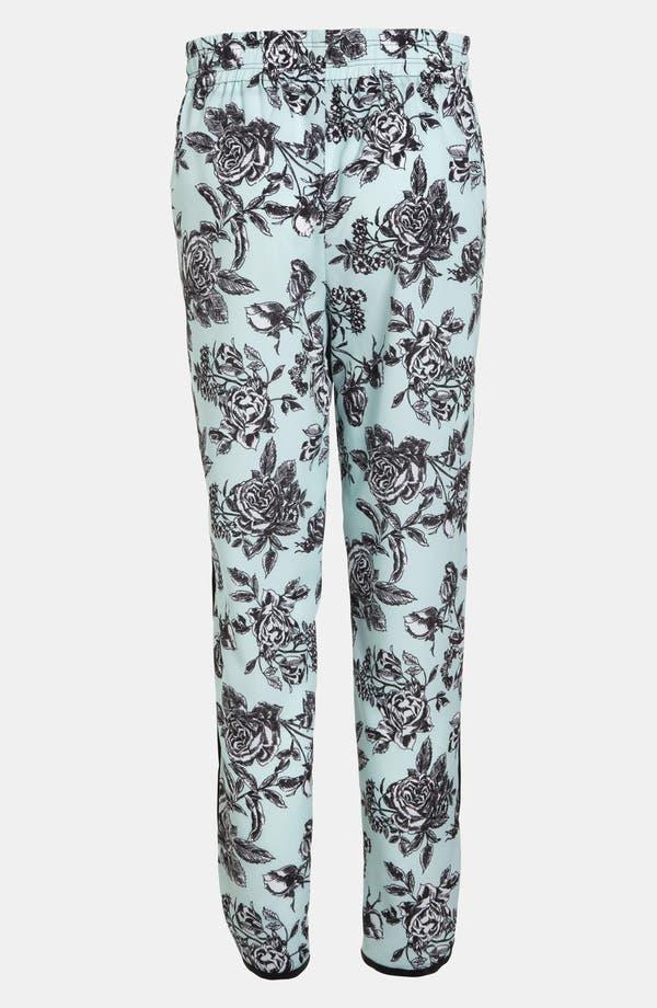 Alternate Image 2  - Wayf Tuxedo Stripe Floral Pants
