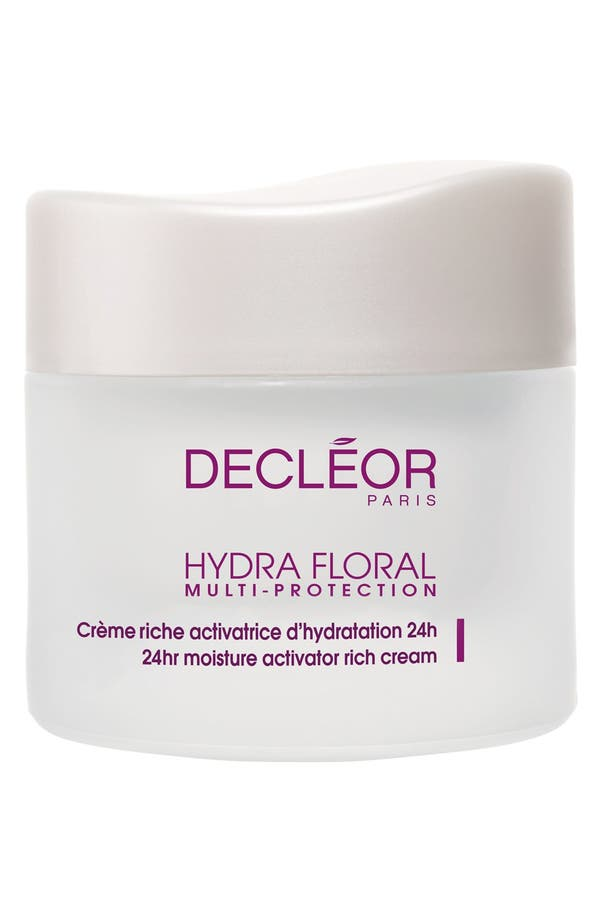 Alternate Image 1 Selected - Decléor Hydra Floral 24 Hour Moisture Activator Rich Cream
