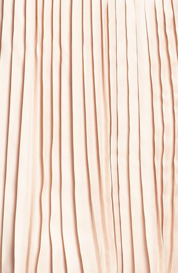 Alternate Image 4  - BB Dakota Faux Leather Bodice & Pleated Skirt Dress (Online Only)