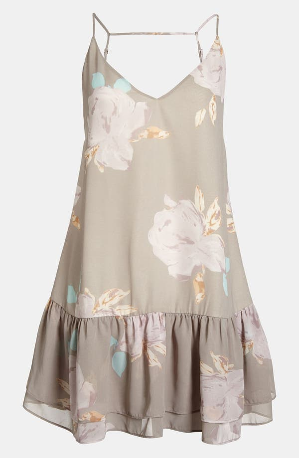 Main Image - Like Mynded Floral Tunic