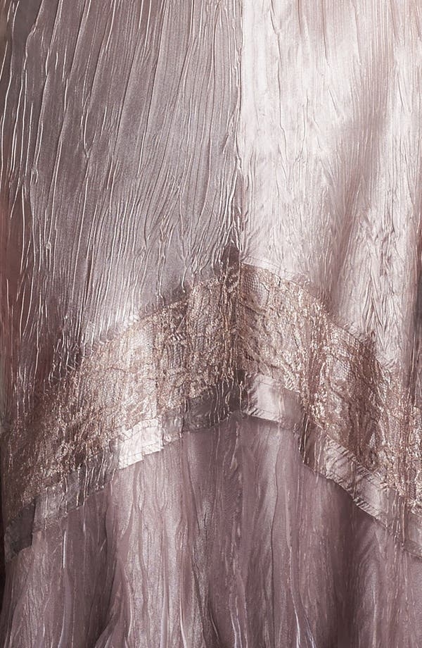 Alternate Image 4  - Komarov Textured Satin Dress & Jacket