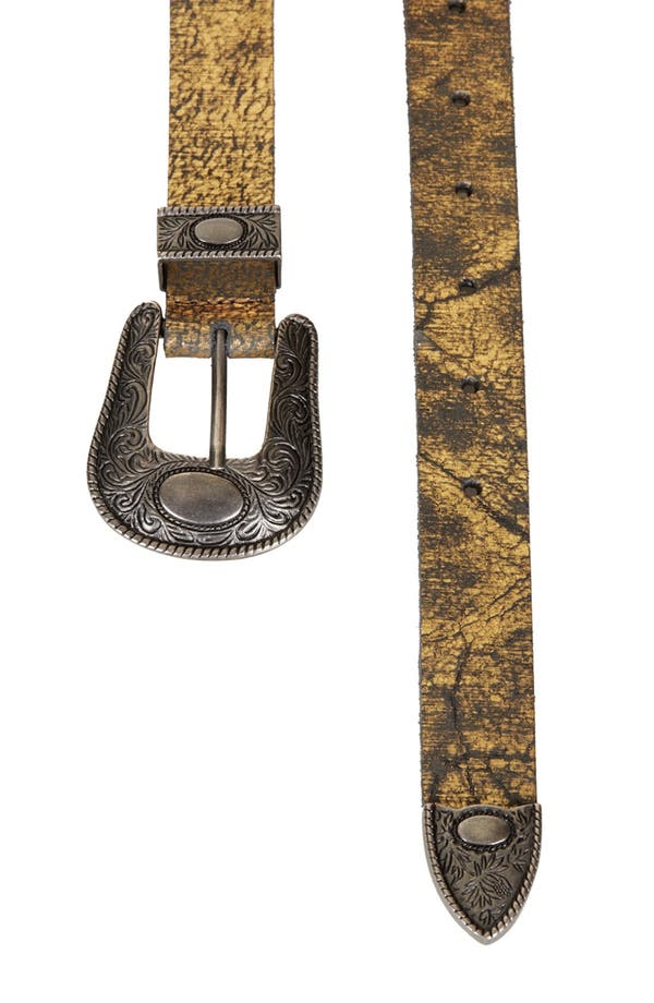 Alternate Image 3  - Topshop Western Belt