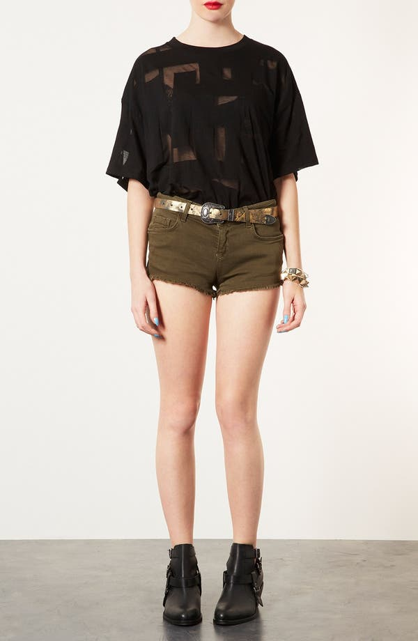 Alternate Image 2  - Topshop Western Belt