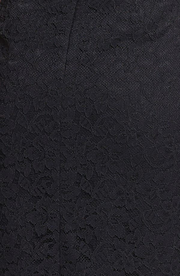 Alternate Image 3  - Diane von Furstenberg 'Walker' Lace Tube Dress