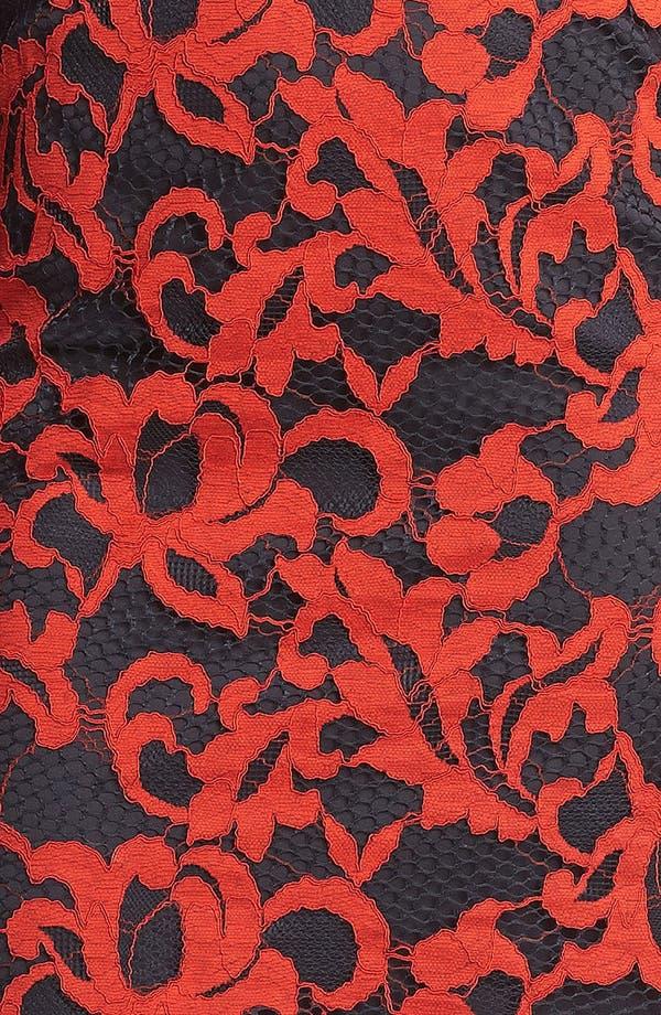 Alternate Image 3  - Diane von Furstenberg 'Gadie' Lace Shift Dress