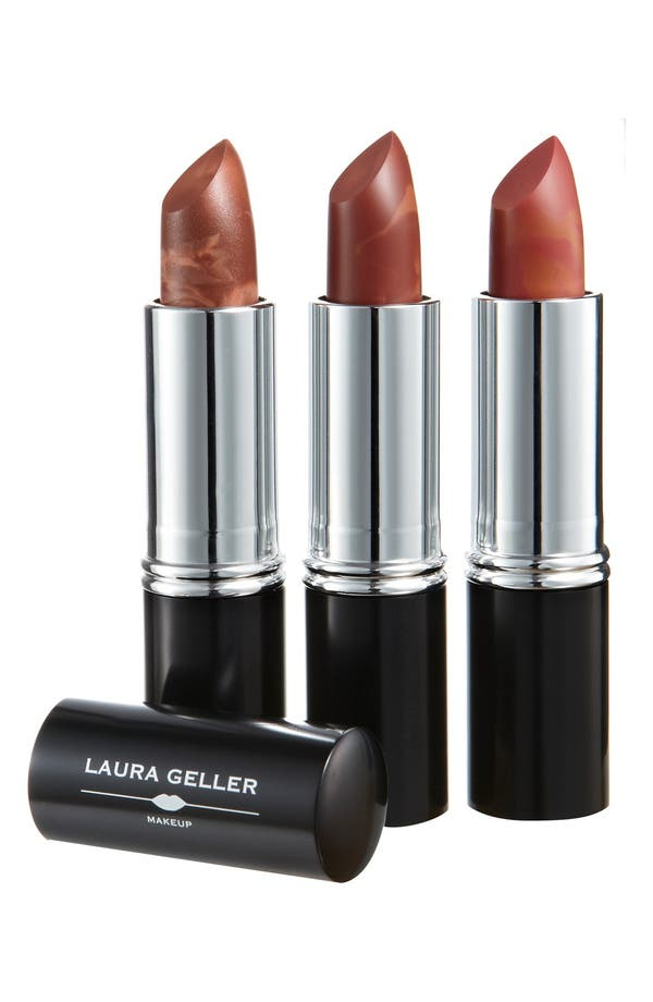Alternate Image 1 Selected - Laura Geller Beauty 'Italian Marble - Option 1' Lipstick Trio