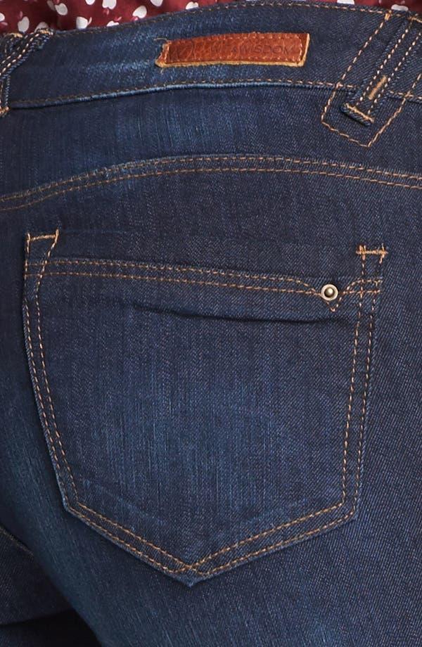 Alternate Image 3  - Wit & Wisdom 'Itty Bitty' Bootcut Jeans (Indigo) (Nordstrom Exclusive)
