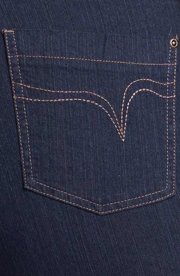Alternate Image 3  - Evans Bootcut Jeans (Plus Size)