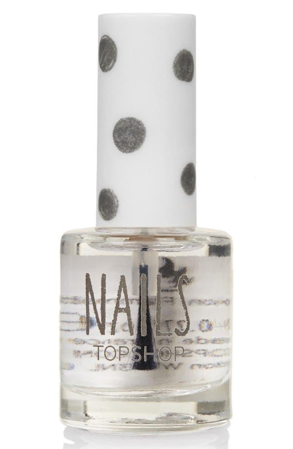 Main Image - Topshop 'Nails' Top & Base Coat