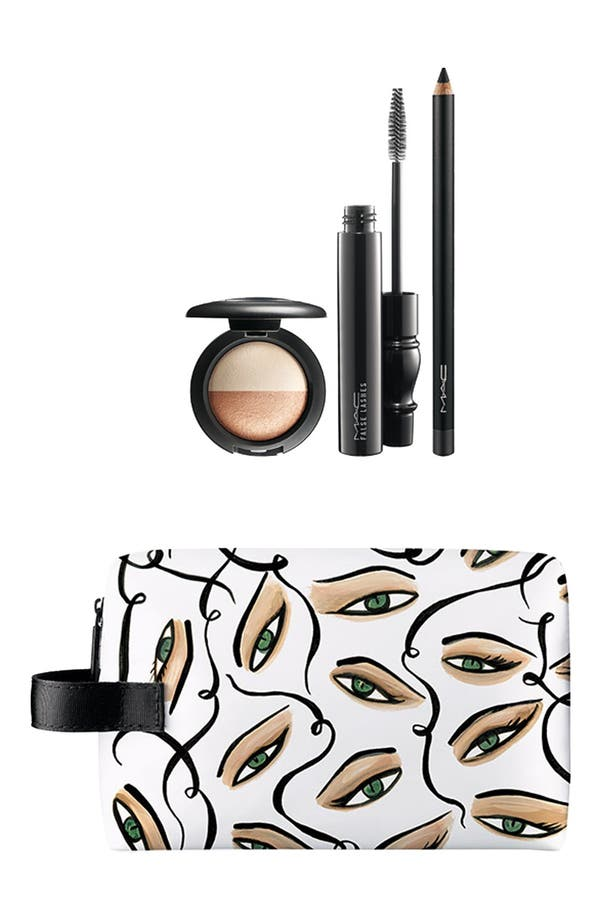 Main Image - M·A·C 'Illustrated' Eye Bag (Smoldering) (Nordstrom Exclusive) ($93 Value)
