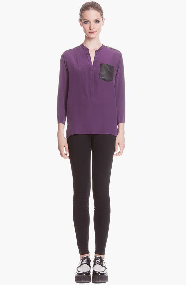 Main Image - sandro 'Populaire' Ankle Zip Pants