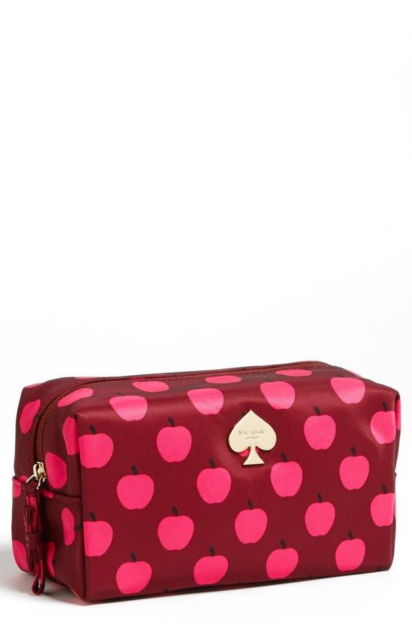 Main Image - kate spade new york 'flatiron - davie' cosmetics bag