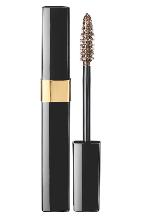 Alternate Image 1 Selected - CHANEL BRONZE TOP COAT SPARKLING MASCARA